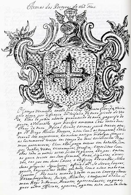 Heráldica dos Pereira, de Sanfins da Beira
