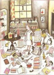 ... des livres...
