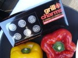 Grill Charms™ product packaging
