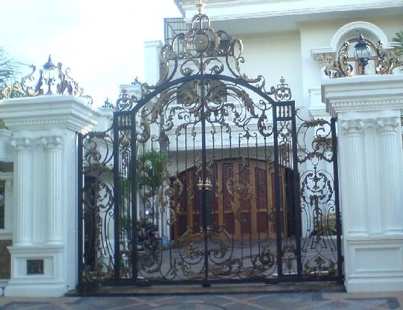 pintu pagar stainless steel pintu pagar besi pagar
