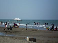 Las aguas del Golfo de México nos recibieron con todo su explendor
