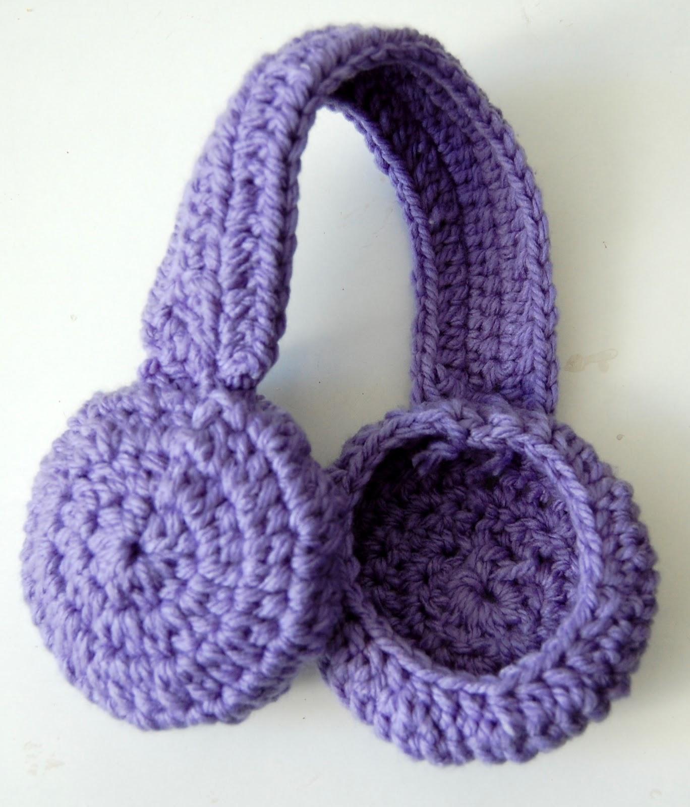 Crochet Free Pattern Muff : Sara In Akko: Earmuff Headband Crochet Pattern