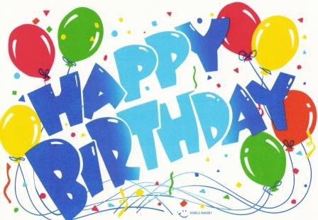 Clip Art Free Birthday. irthday balloons clip art
