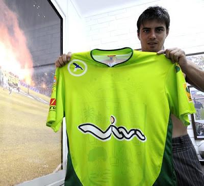 Club Oriente Petrolero - Marcelo Aguirre - Camiseta Oficial de Oriente Petrolero Temporada 2011 - Oriente Petrolero