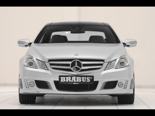 Mercedes Benz E Class Coupe Interior. Brabus Mercedes-Benz E-Class