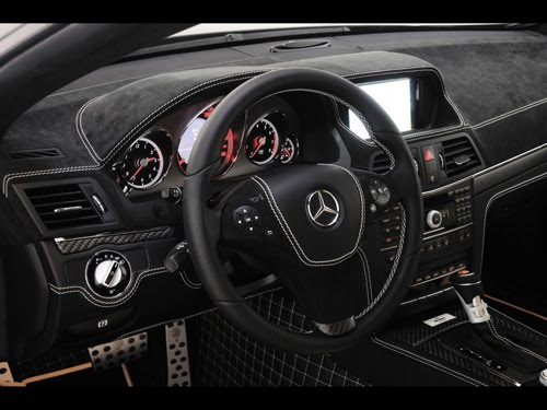 Mercedes Benz V12 Coupe. Brabus Mercedes-Benz E V12