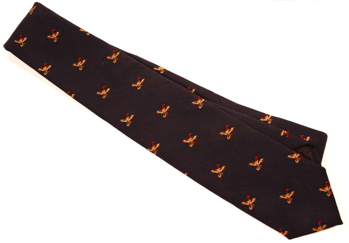 Pheasant tie detail