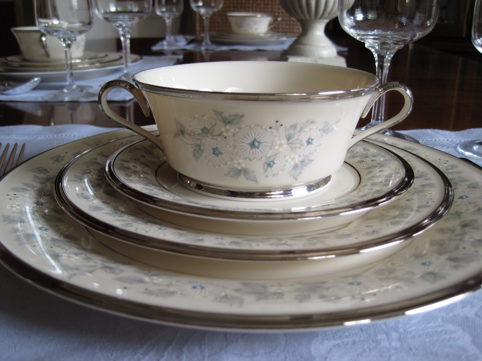 Appealing Discontinued Lenox China Patterns Gallery - Best Image ...