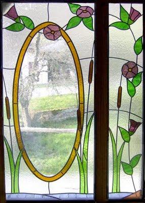 porte vitrail, vitrage isolant