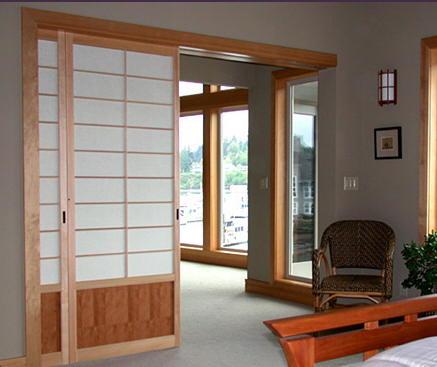 Puertas correderas decoracion y manualidades - Puertas correderas para separar ambientes ...