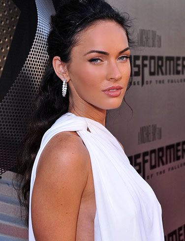 megan fox hair up. hair amp; make up : megan fox