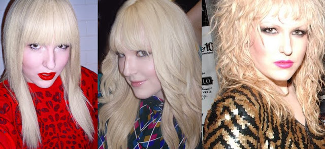 Darian Darling's blonde hair through the years