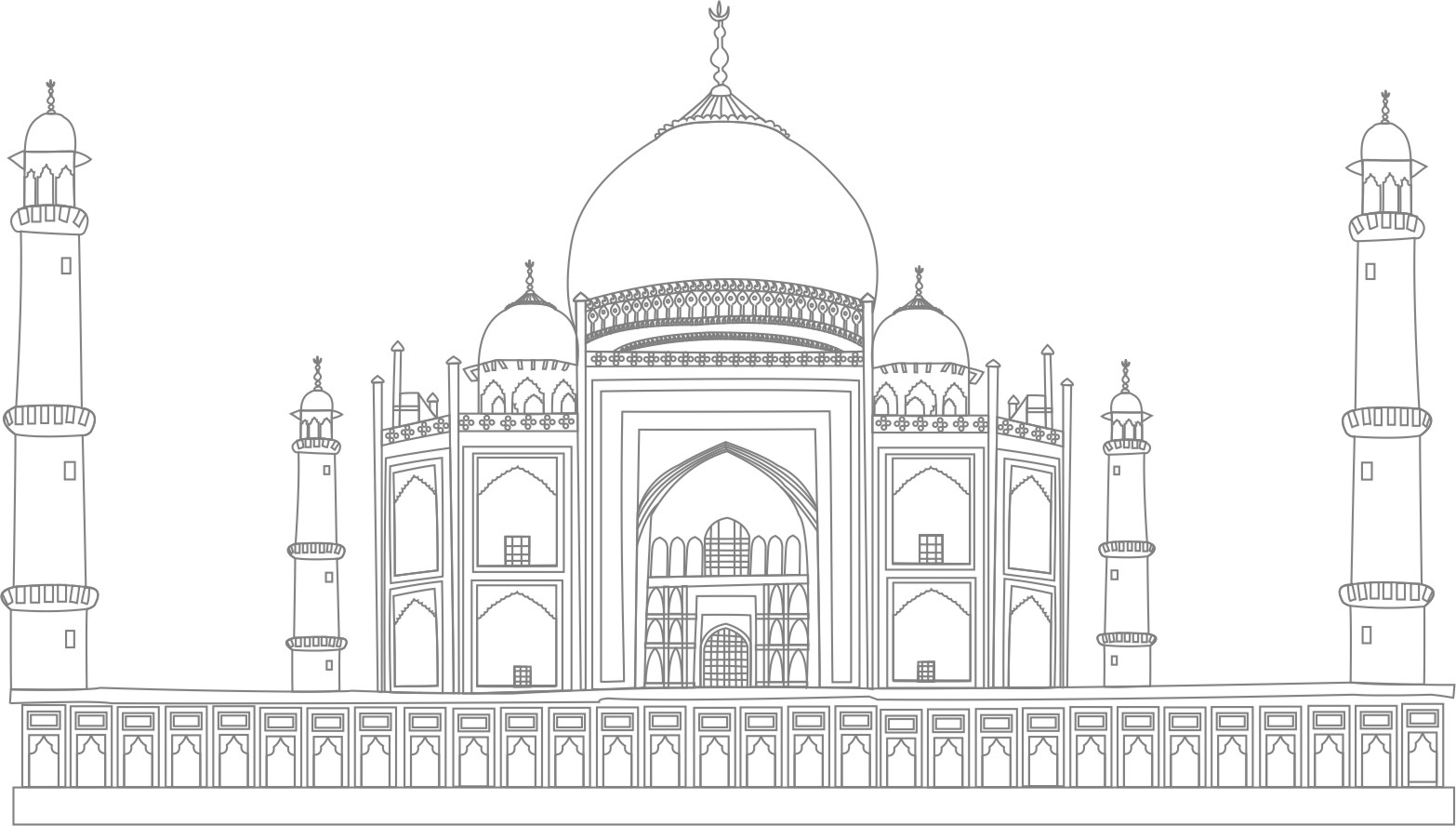 My Graphic Work Taj Mahal