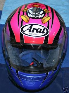 Arai Sakata helmet center