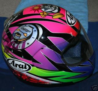 Arai Sakata helmet right side