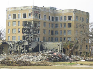 Tivoli Hotel after Hurricane Katrina