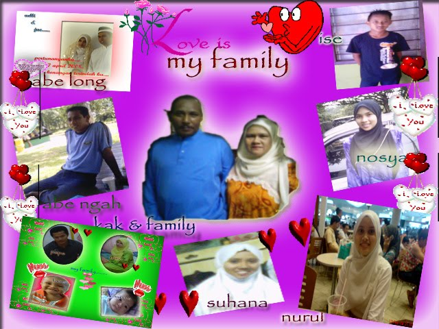 my lovely....family....sygg ma...syg abah...syg sme