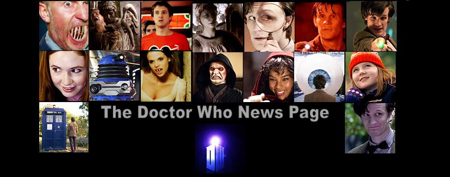 The Doctor Who News Page