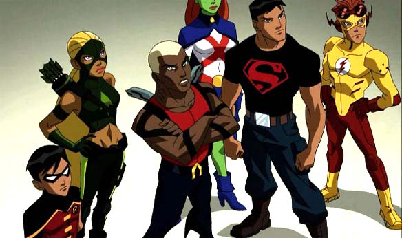 Rayos y Centellas: Young justice: Preview de 5 minutos en la Comic-Con