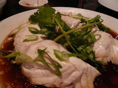 Steamed Snaper Fillets