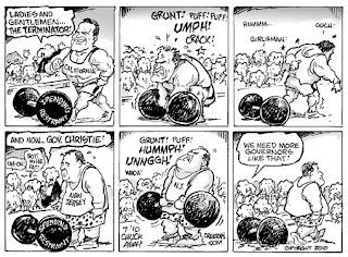 Arnold vs. Christie