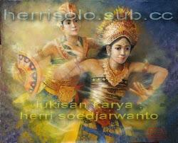 Gerak dinamis ekspresif Tari Bali