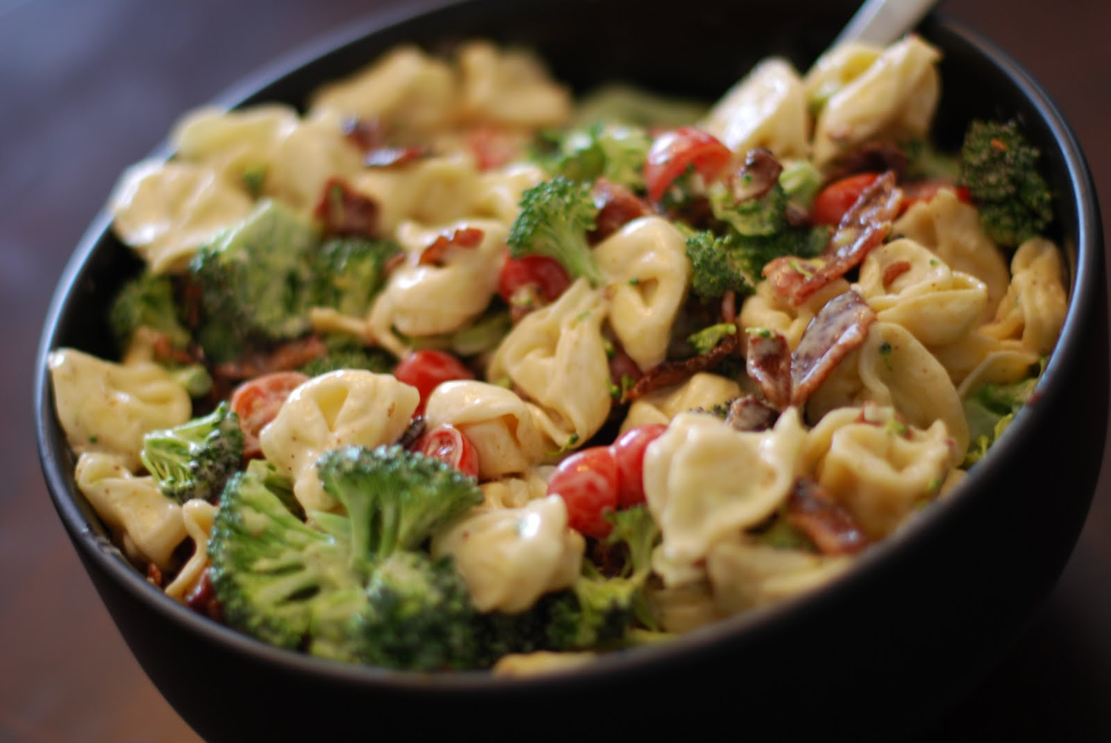What's for Dinner?: Tortellini Bacon Broccoli Salad