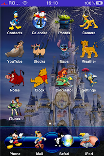 Disney iPhone Theme
