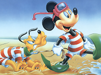 pluto and mickey mouse pictures