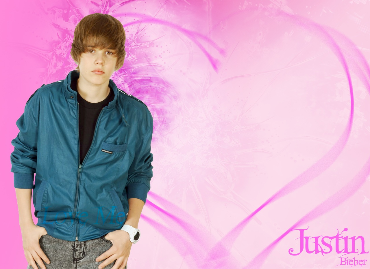 Justin Bieber love wallpaper