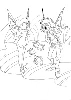 fairy bobble page to color