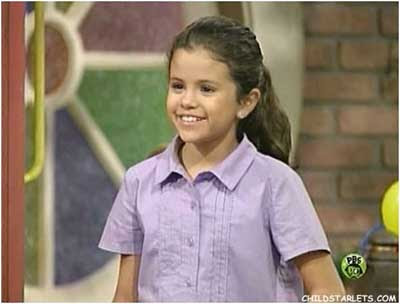 selena gomez when she was a kid