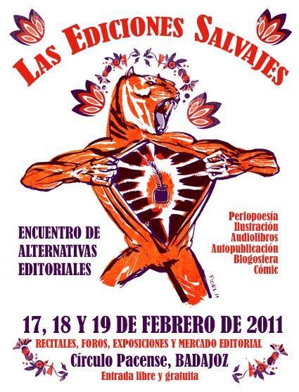 cartel las ediciones salvajes