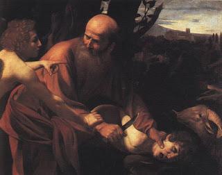 El Sacrificio de Isaac (Caravaggio)