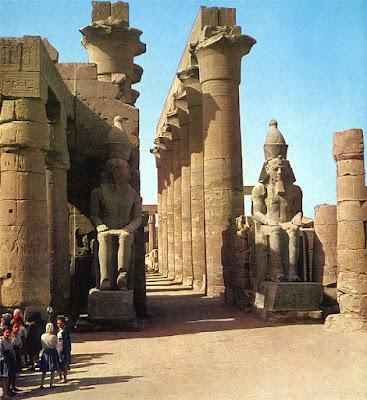 L nea serpentinata caracter sticas generales de la for Arquitectura de egipto