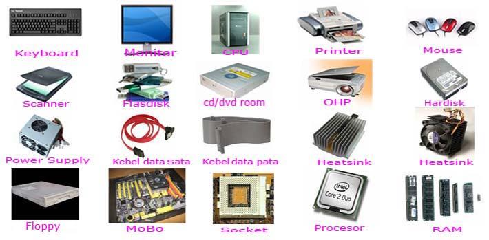 Contoh Perangkat Keras Komputer||Contoh Perangkat Keras Komputer ...