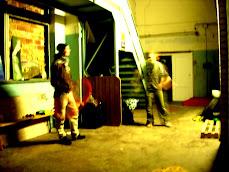 Juho and Mantas: rainy evening Juggling at the Loft