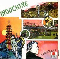 Cover Album of Indochine- L'Aventurier MLP