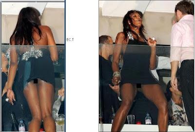 Naomi Campbell fotografiada supuestamente sin ropa interior, haciendo ...