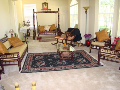 Ethnic Indian Decor An Indian Home In Plano Texas
