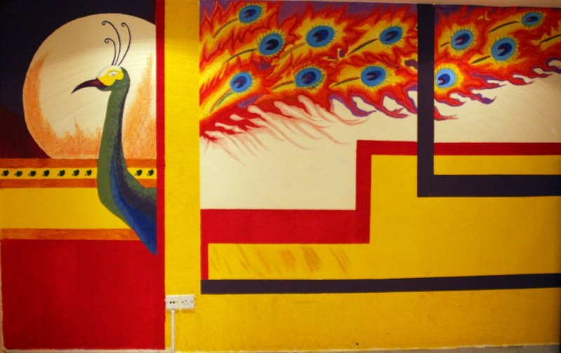 Ethnic Indian Decor: Beautiful Wall art eager to know how they ...