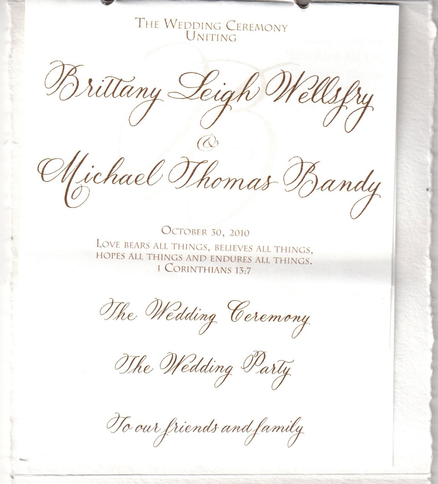 Download image unique wedding program wording pc android iphone and