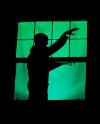 BirshyKat: Halloween Window Silhouettes