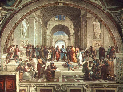 The Nature of Things - Painting of The School of Athens