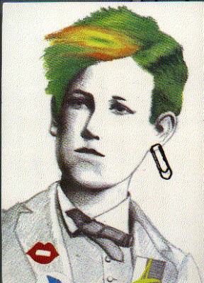 Collage Rimbaud
