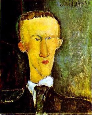 Ritratto di Blaise - Portrait of Blaise, by Modigliani