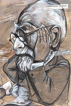 Freud - caricatura