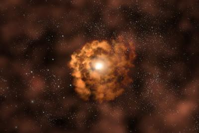 Eruzione da un Buco Nero supermassiccio - osservatorio satellite Chandra