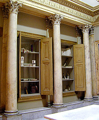 A Hall of the Alexandria Library (reconstruction)