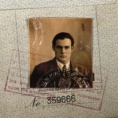 Young Hemingway's passport